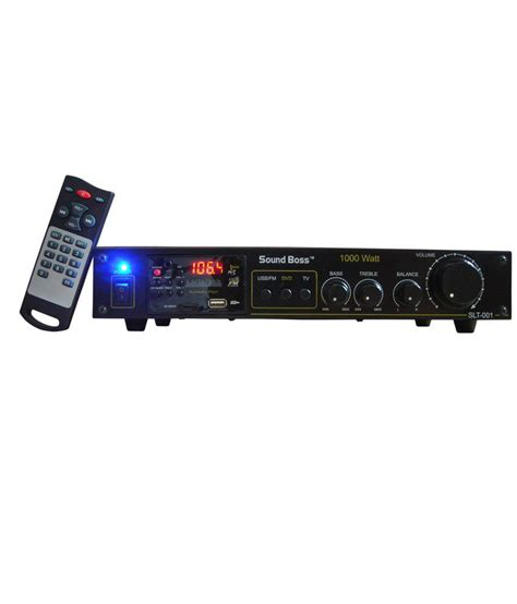 Power Mobil 8000waat Ads Usb Bass buy soundboss 2 speaker lifier with fm receiver usb mmc aux at best price in india