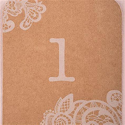 printable kraft tags uk large kraft tag with vintage lace white print numbers