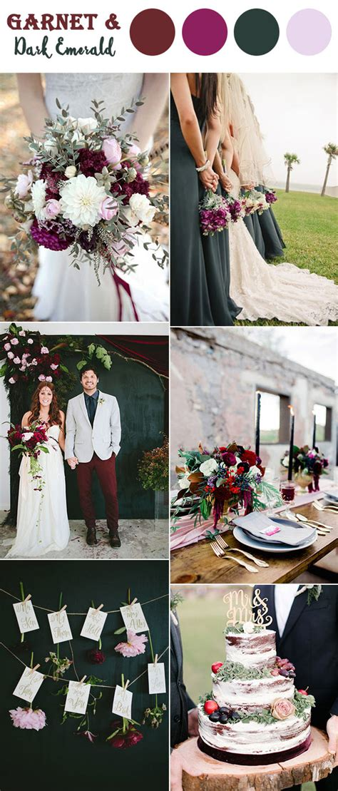 wedding colors for fall the 10 fall wedding color combos to