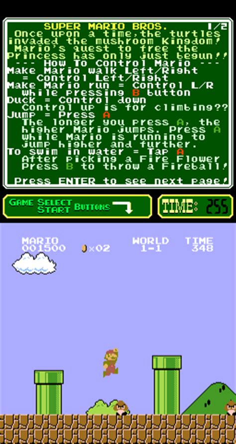 emuparadise net super mario bros playchoice 10 rom download for mame