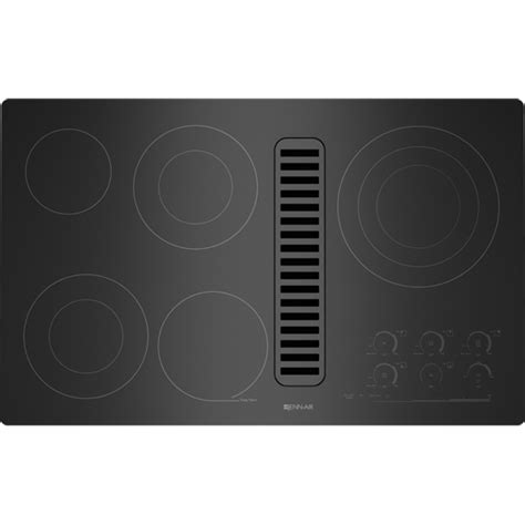 Downdraft Cooktops Electric Radiant Downdraft Cooktop With Electronic Touch 36 Quot Jenn Air