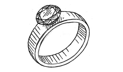Eheringe Malen by How To Draw A Ring Easy