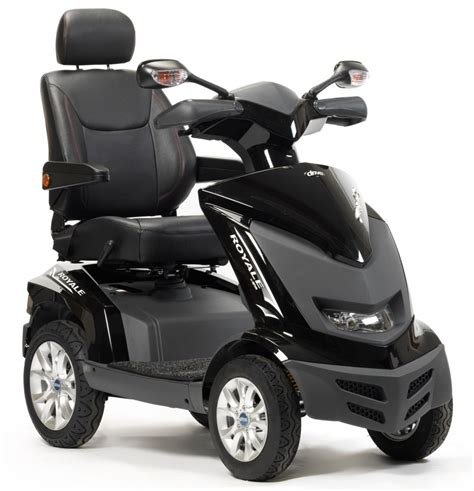 motorized handicap scooters the royale mobility scooter 4 wheel various colours