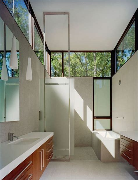 narrow bathroom windows high windows long narrow space bathrooms pinterest