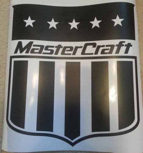 mastercraft boat decals for sale buy mastercraft large shield sticker decal 14 x 15