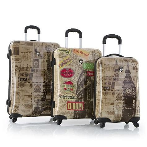 Set Vintage 3 heys vintage 3 luggage set maps luggage ch
