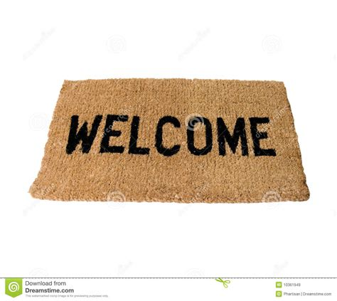 Gratis Mat by Welcome Doormat Royalty Free Stock Images Image 10361949