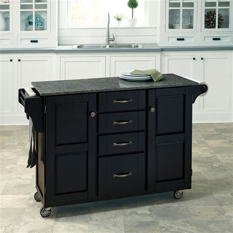 new large dark brown kitchen island utility cart wheeled home styles create a cart black kitchen cart with quartz