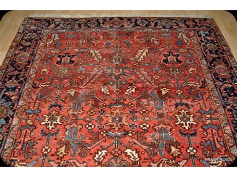heriz rug antique heriz rug circa 1930 s genuine handmade knotted on sale from