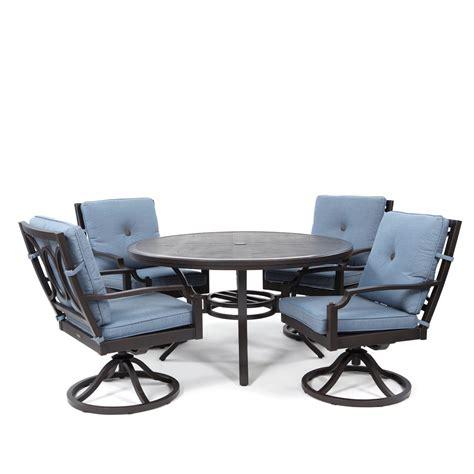 Patio Furniture Bellevue Sunvilla Bellevue 5 Swivel Rocker Dining Set