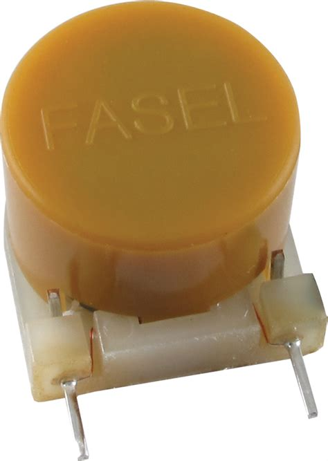 vs yellow fasel inductor inductor dunlop fasel cup model yellow antique electronic supply