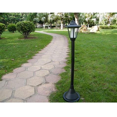landscape post light outdoor garden solar l post landscape path light