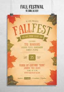 Fall Flyer Template by Fall Festival Flyer Poster Flyer Template Flyer Design