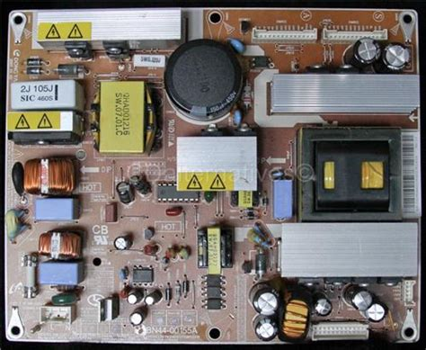 samsung tv capacitor change samsung ln t2632hxxaa lcd tv replacement capacitors board not included lcdalternatives