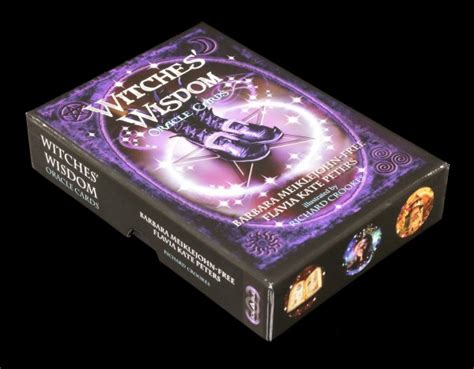 witches wisdom oracle cards 099555160x witches wisdom oracle cards www figuren shop de