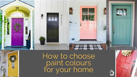 choosing colours for your home interior 5 tips to get it right when choosing the external colour scheme for your home