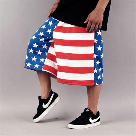 mens 2014 hiphop fashion usa baggy shorts mens big