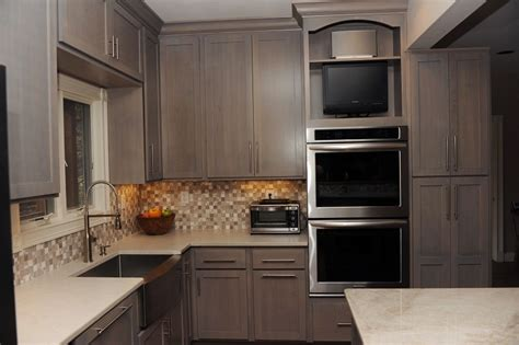Grey Maple Kitchen Cabinets Kitchen Re Do Cabinets Make A Difference