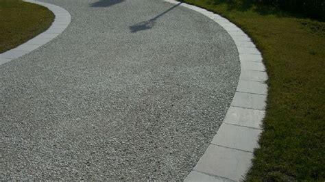 ghiaia per pavimentazioni esterne progettare giardini e terrazze le pavimentazioni in