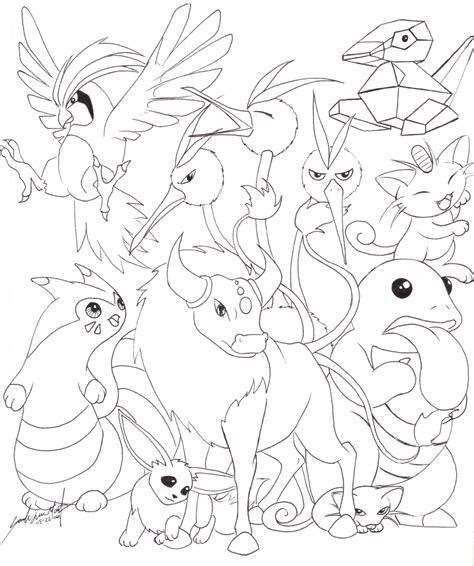Pokemon All Eevee Evolutions Coloring Pages Car Interior Eevee Evolutions Coloring Pages
