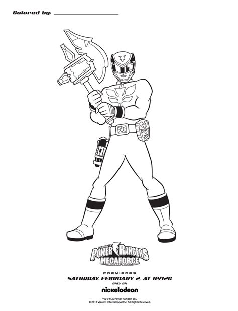 power rangers megaforce coloring pages all power rangers megaforce coloring pages pictures to pin