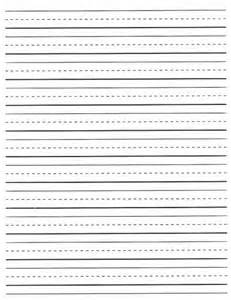 Second Grade Writing Paper Free Lined Writing Paper For First Grade 2 Fun
