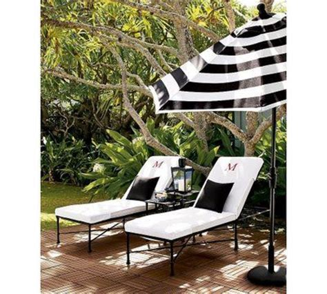 Black And White Striped Patio Umbrella Black Striped Patio Umbrella Yes Black And White Stripes Do Seem Chic Backyard