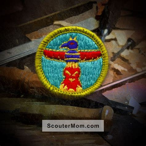 woodworking merit badge requirements wood carving merit badge boy scout scouter