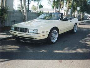 Cadillac Allante 1993 1993 Cadillac Allante Convertible 75250