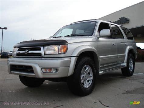 2000 Toyota 4runner Limited 2000 Toyota 4runner Limited 4x4 In Millennium Silver