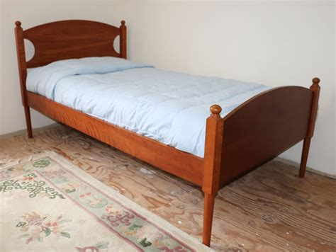 shaker bed mary clare s bed low footboard shaker inspired platform bed