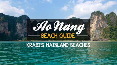 ao nang beach guide krabis mainland beaches travel
