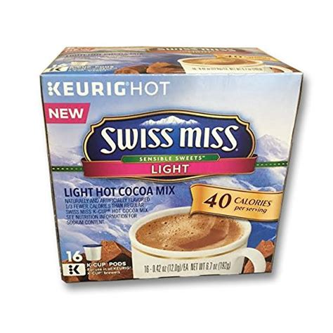 swiss miss light k cups keurig 174 k cup 174 pod swiss miss cocoa 44 pk dealtrend