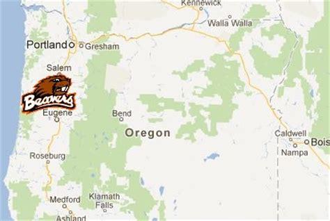 oregon state location map the foe oregon state bio vanquish the foe