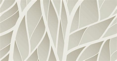 Zen Rooms neutral leaves pattern wallpaper wall decor
