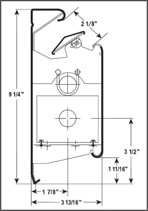 baseboard dimensions hi output 958 baseboard heater