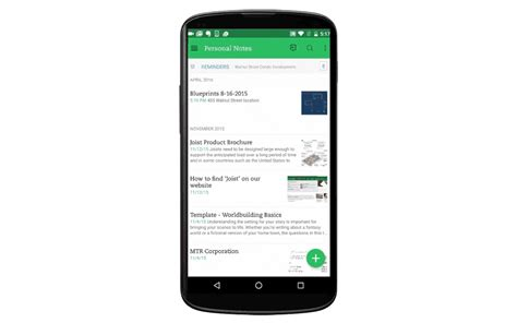 evernote android evernote enhances document scanning and annotation on android