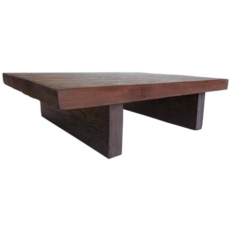 modern primitive coffee table for sale at 1stdibs