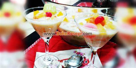 resepi puding cocktail wwwbukuresepicom