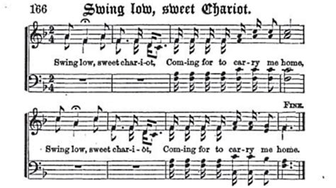 who wrote swing low sweet chariot oklahoma loves swing low sweet chariot 187 popular
