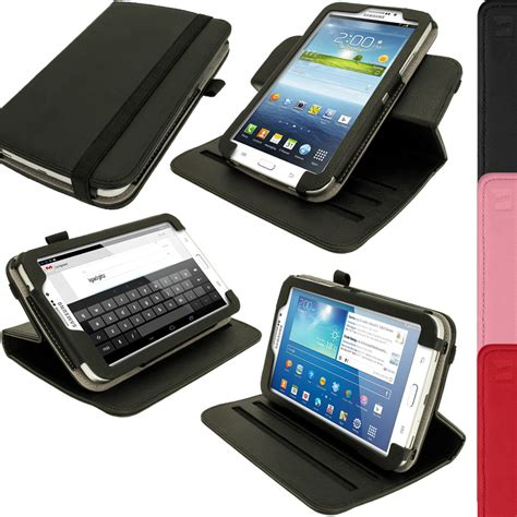 Tablet Samsung Tab 3 7 0 P3200 pu leather stand cover for samsung galaxy tab 3 7 0 quot sm t210 p3200 p3210 ebay