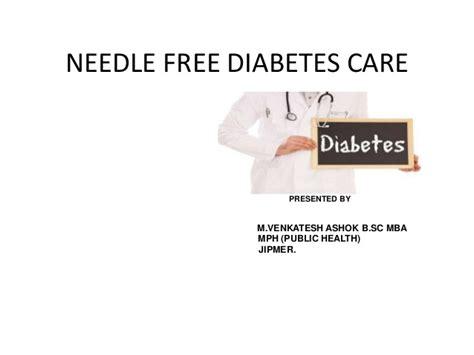 Mph Mba Linkedin by Needle Free Diabetes Care By M Venkatesh Ashok B Sc Mba