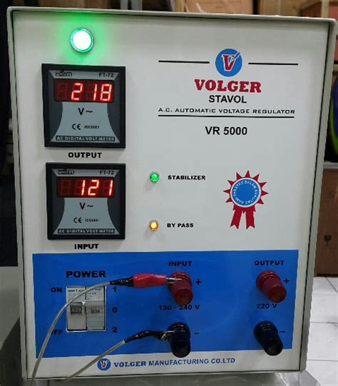 Stabilizer Listrik 6 Kva 3 Phase Matsuta sumberstavol stabilizer volger vr 5000