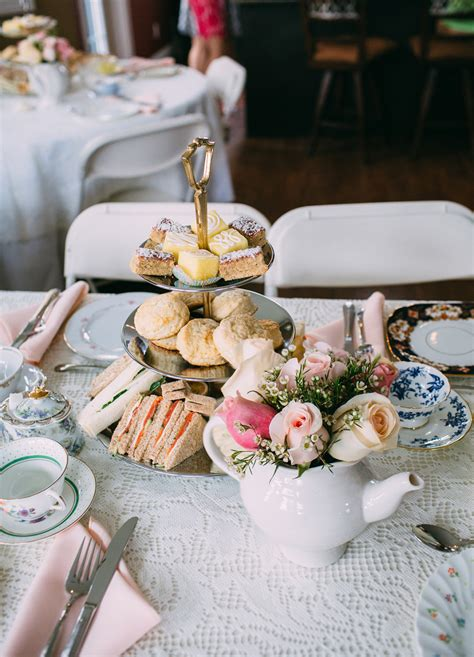 High Tea Bridal Shower by High Tea Theme Bridal Shower Niagara Wedding Photography