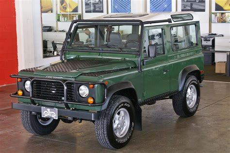 defender land rover 1997 1997 land rover defender 90 hardtop stock 130507 for