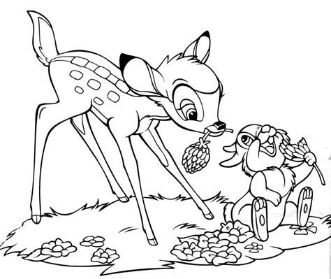 coloring pages that are free free printable bambi coloring pages for kids