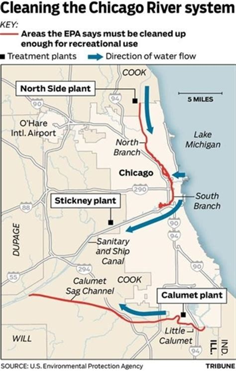 chicago river map the most of a clean ish river metropolitan