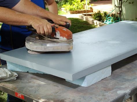 concrete diy concrete countertop for a workbench how tos diy