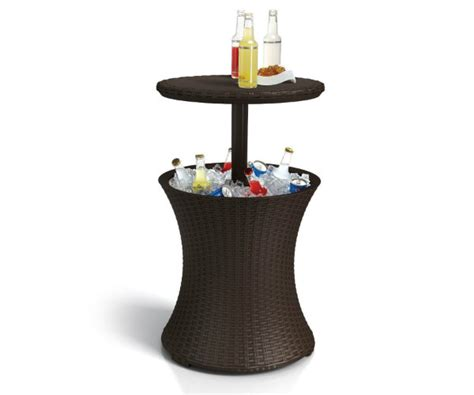 Cooler Table by Keter Rattan Cooler Table Barbecuebible
