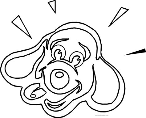dog face coloring page coloring home